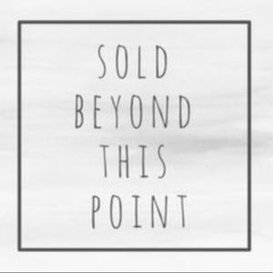 🌺Everything beyond this point has been sold🌺